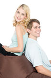 Cute Couple Together Stock Photography