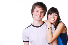 Cute couples Stock Photo