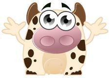 Cute cow Royalty Free Stock Photography