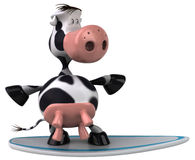 Cute cow Stock Image