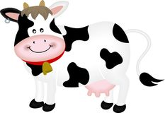 Cute cow Royalty Free Stock Images