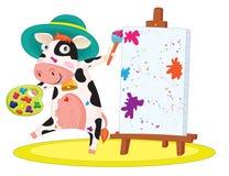 Cute cow Royalty Free Stock Photos