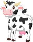 Cute cow cartoon. Illustration of Cute cow cartoon Stock Photo