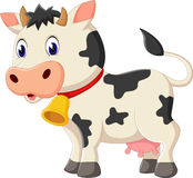 Cute cow cartoon Stock Photography