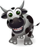 Cute cow cartooon Stock Photography