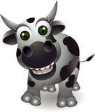 Cute cow cartooon Stock Photography