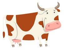Cute cow farm animal character Stock Photo