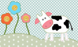 Cute cow Royalty Free Stock Photos
