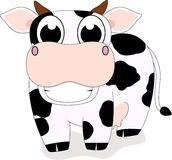 Cute Cow Smile Stock Photography
