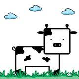 Cute Cow - Vector Stock Photography