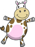 Cute Cow Vector Illustration Stock Images