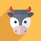 Cute cow Royalty Free Stock Image
