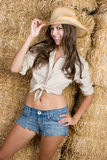 Cute Cowgirl Stock Photos