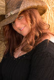 Cute Cowgirl Royalty Free Stock Photography