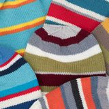 Cozy knitted set of hats background Stock Photography