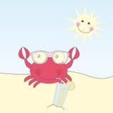 Cute crab Royalty Free Stock Image