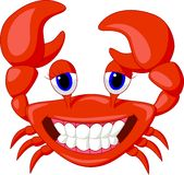 Cute crab cartoon Stock Photo