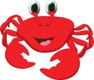 Cute crab cartoon Royalty Free Stock Image