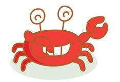 Cute crab cartoon Stock Photography