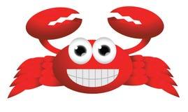 Cute crab cartoon Stock Photo