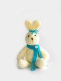 Cute crochet rabbit doll Stock Photo