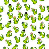 Cute crocodile or alligator Royalty Free Stock Photo