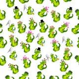 Cute crocodile or alligator Royalty Free Stock Photography