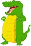 Cute crocodile cartoon Royalty Free Stock Photography