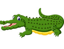 Cute Crocodile cartoon. Of illustration royalty free illustration