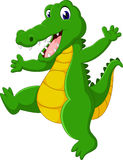 Cute Crocodile cartoon. Of illustration royalty free illustration