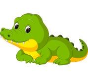 Cute crocodile cartoon. Illustration of Cute crocodile cartoon stock illustration