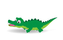 Cute crocodile  Royalty Free Stock Photos