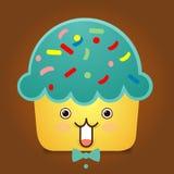 Cute Cupcake Character Stock Photos