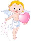 Cute Cupid royalty free illustration