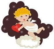 Cute Cupid Royalty Free Stock Photos
