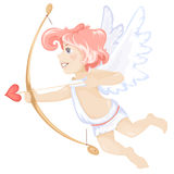 Cute Cupid , valentine symbol Stock Photos