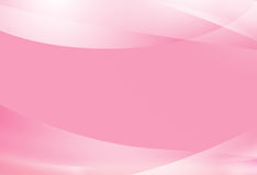 Cute curves Gradient. On pink background Royalty Free Stock Image