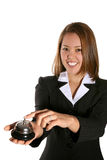 Cute Customer Service Woman Royalty Free Stock Photos
