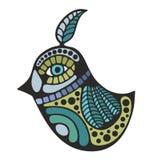 Cute decorative bird. Stock Photo