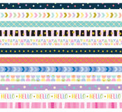 Cute Decorative Border Frame Royalty Free Stock Images