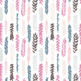 Cute decorative seamless pattern with cereals Royalty Free Stock Image