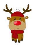 Cute deer vector illustration