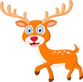 Cute deer cartoon Royalty Free Stock Photo