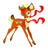 Cute deer Royalty Free Stock Image