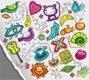 Cute design elements royalty free illustration