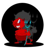 Cute devil Royalty Free Stock Photo