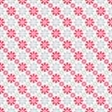 Cute different seamless pattern. Pink, white and royalty free illustration