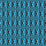 Cute different vector seamless pattern. Blue color background. Royalty Free Stock Photos