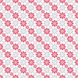Cute different vector seamless pattern. Pink, Stock Images