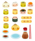 Cute Dim sum Royalty Free Stock Images